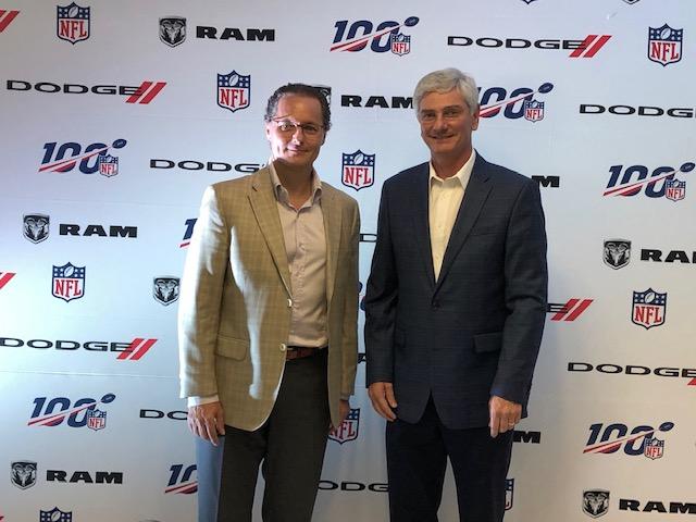 """Dodge y Ram son el """"Auto Oficial"""" y la """"Pickup Oficial"""" de la NFL para la temporada 2019_2"""