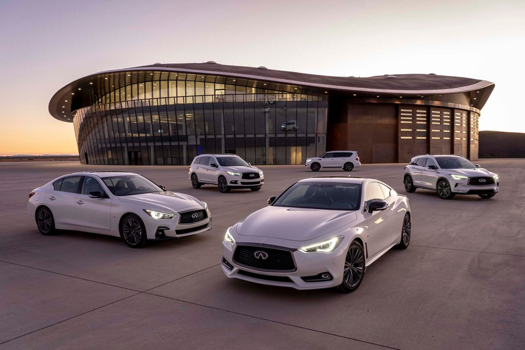 INFINITI Edition 30 vehicles