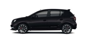 Sandero RS 2020 - Lateral Negro