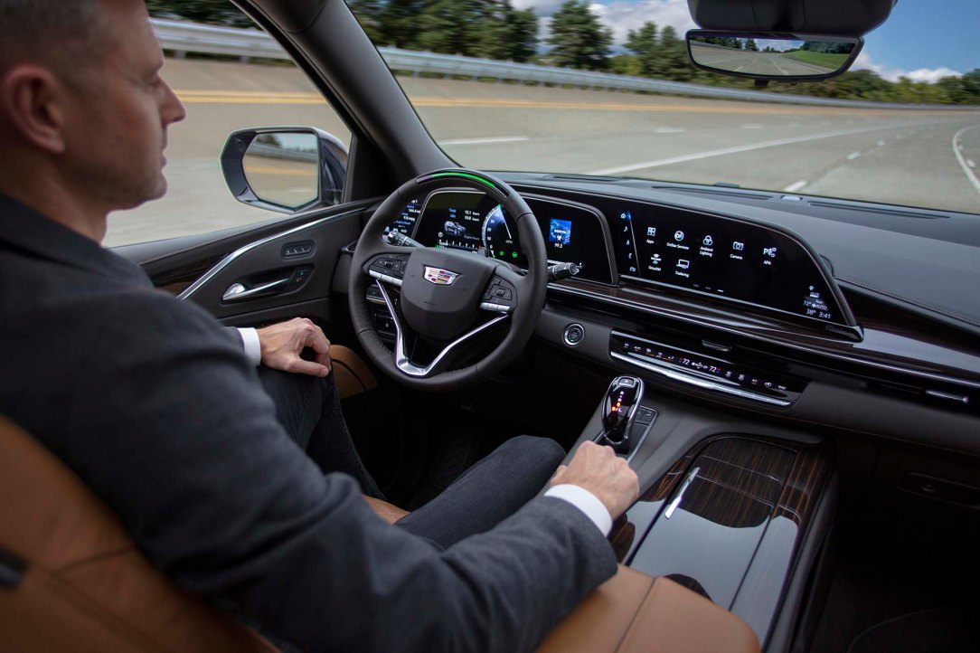The 2021 Escalade enters the future of mobility as the first ful