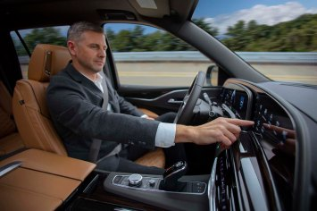 Super Cruise uses LiDAR map data, high-precision GPS, a state-of-the-art driver attention system and a network of cameras and radar sensors.