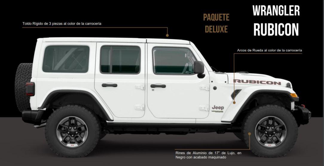 Jeep® Wrangler Unlimited Rubicon Edición Deluxe 2020-PAQUETE DELUXE_Exterior