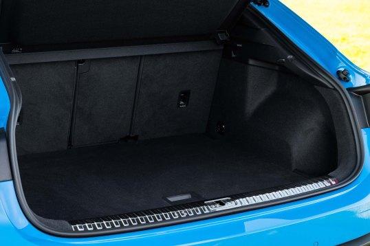 Luggage compartment, Colour: Turbo blue