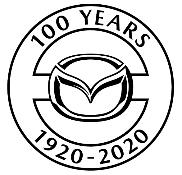 Mazda 100th logo