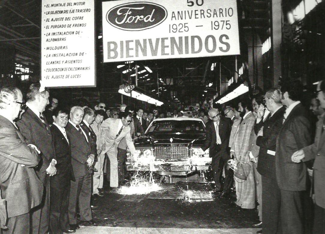 66 Celebración del 50 Aniversario de Ford Motor Company de México, 1975