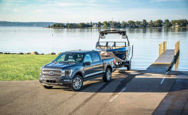 The only full hybrid in the segment, available PowerBoost™ provides targeted best-in-class horsepower and torque, a targeted EPA-estimated range of approximately over 700 miles on a single tank of gas and at least 12,000 pounds of maximum available towing capacity. It's available across the lineup from XL to Limited.