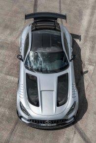 Mercedes-AMG GT Black Series (Kraftstoffverbrauch kombiniert: 12,8 l/100 km, CO2-Emissionen kombiniert: 292 g/km), 2020, Exterieur, hightechsilber Mercedes-AMG GT Black Series (combined fuel consumption: 12,8 l/100 km, combined CO2 emissions: 292 g/km), 2020, Exterieur, hightechsilver