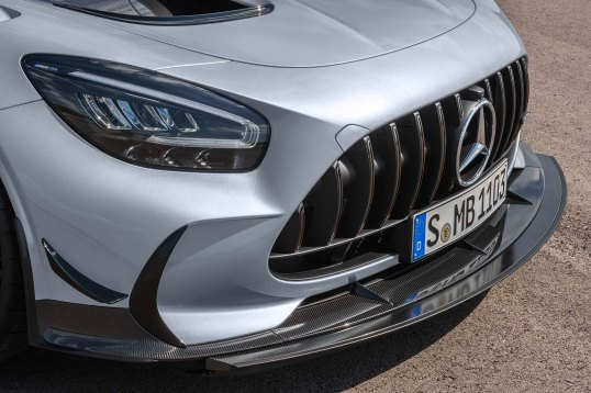 Mercedes-AMG GT Black Series (Kraftstoffverbrauch kombiniert: 12,8 l/100 km, CO2-Emissionen kombiniert: 292 g/km), 2020, Exterieur, Front, Front-Diffusor, Aerodynamik, hightechsilber, Kühlergrill Mercedes-AMG GT Black Series (combined fuel consumption: 12,8 l/100 km, combined CO2 emissions: 292 g/km), 2020, Exterieur, front, front diffusor, aerodynamics, hightechsilver, Radiator grille