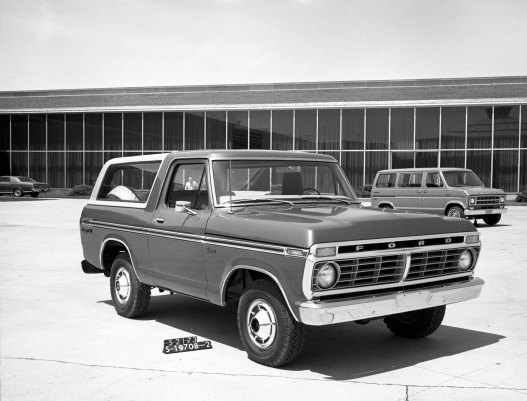 Bronco Gen 2 1978 MY S-19708-2