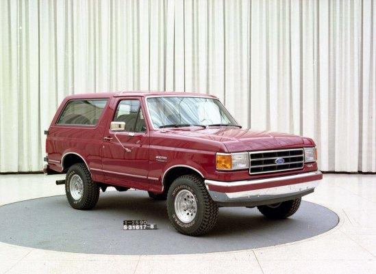 Bronco Gen 5 1992 MY S-31617-8