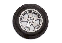 17-inch Sparkle Silver wheels come standard on base Bronco Sport.