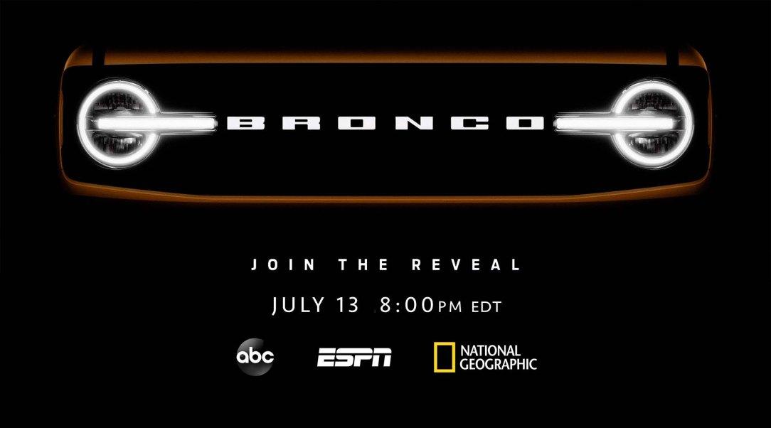 Bronco Reveal