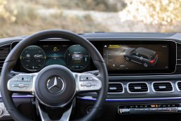 Mercedes-Benz GLS, 2019, AMG Line, designo selenitgrau metallic, Leder espressobraun Mercedes-Benz GLS, 2019, AMG Line, designo selenite grey metallic, espresso brown leather
