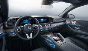 Mercedes-Benz GLE Coupé 2019, mojavesilber, Leder magmagrau / schwarz, Studio Mercedes-Benz GLE Coupé 2019, moyave silver, leather magma grey / black, studio