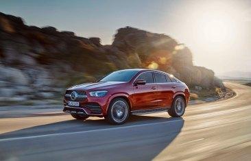 Mercedes-Benz GLE Coupé 2019, designo hyazinthrot metallic, Outdoor Mercedes-Benz GLE Coupé 2019, designo hyacinth red metallic, outdoor
